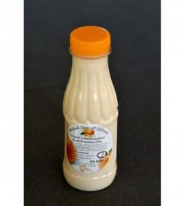 Ízesített gyümölcsjoghurt ( ivójoghurt ) - kajszis
